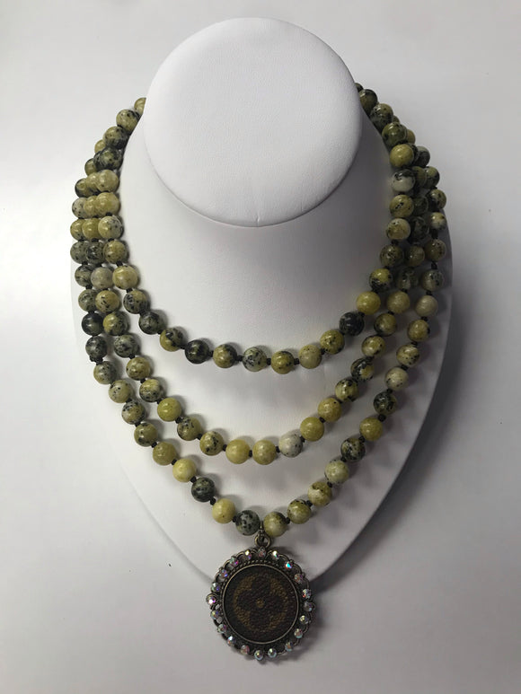 The Tropics LV Necklace