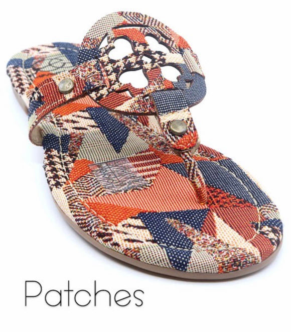 Patches Medallion Sandal