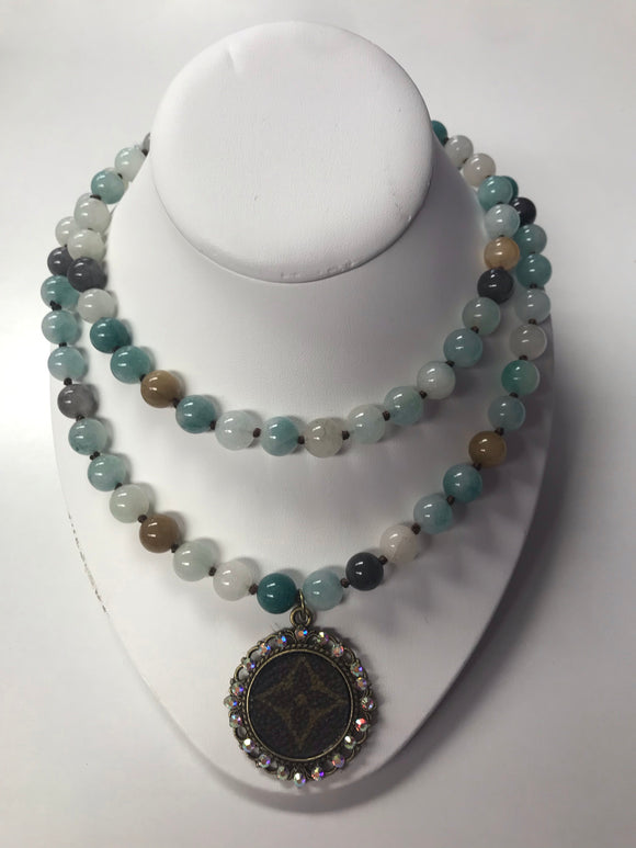 Colors of the Caribbean LV Necklace