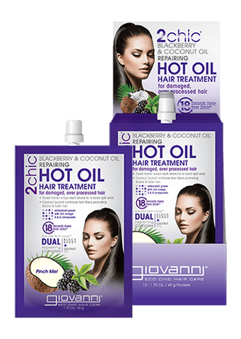 Giovanni Cosmetics Vegan Cruelty-free All Natural Hair Treatment Beauty Box