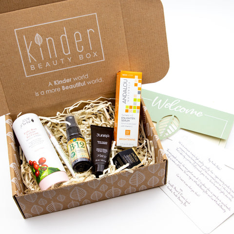 vegan cruelty free beauty subscription kinder beauty