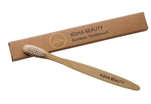 KOHA Bamboo Toothbrush Eco Friendly Vegan Cruelty Free