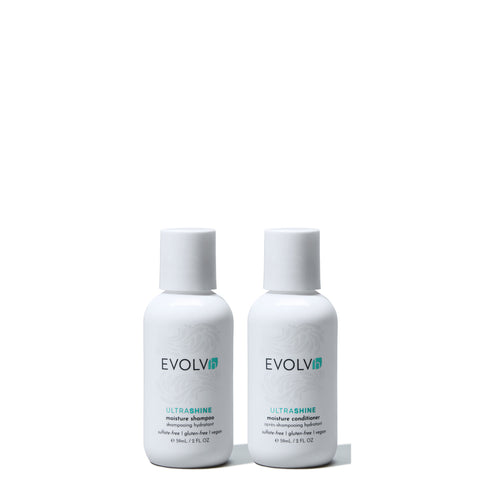 EVOLVh cruelty free vegan travel shampoo conditioner