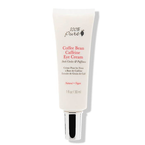 100% Pure Coffee Eye Cream Vegan Cruelty-Free