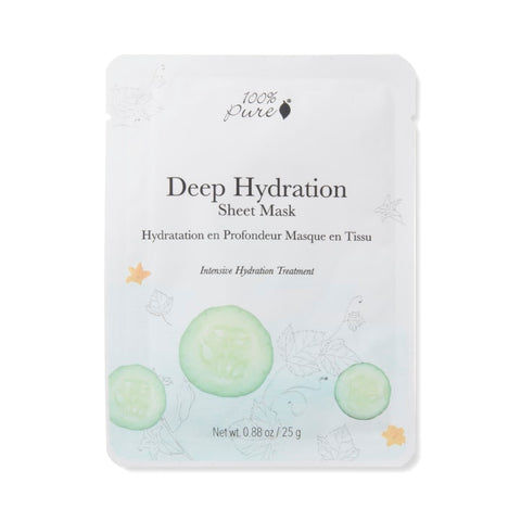 magnolia collection october 2020 kinder beauty - 100 percent pure deep hydration sheet mask