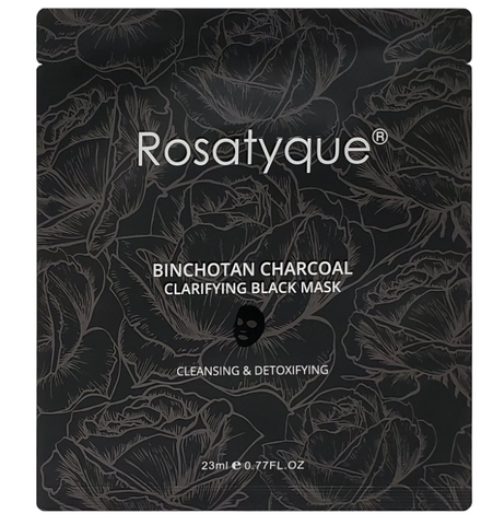 rosatyque charcoal mask