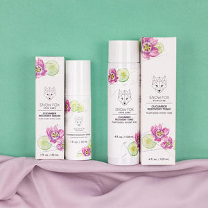Combo Skin Recovery Set by Snow Fox Skincare