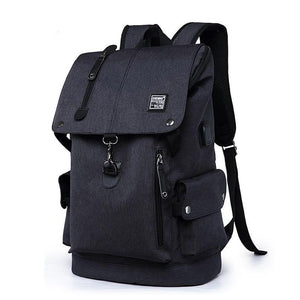 Pistol Whip Canvas Backpack