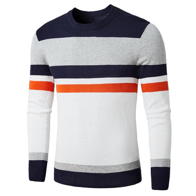 Yukon Trail Striped Sweater