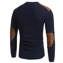 Load image into Gallery viewer, Saddle Patch Knitted Sweater