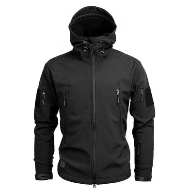 Waterproof Necked Zipper Jacket
