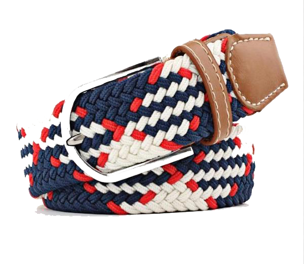Texas Quilted Knit Belt