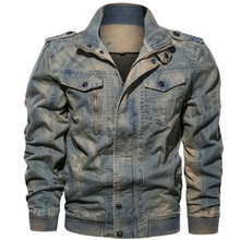 Load image into Gallery viewer, Classic Faded Denim Jacket