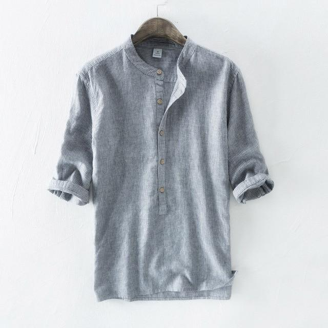 Rolled Waves Button Down Shirt