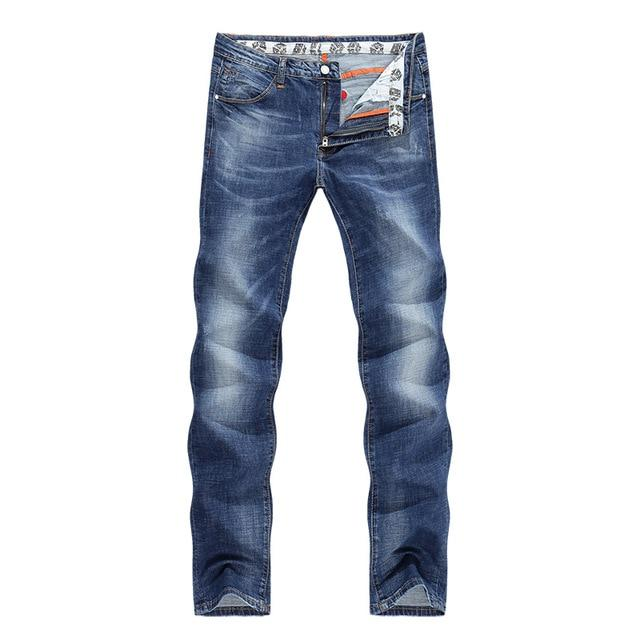 Horizon Blues Faded Straight Pant