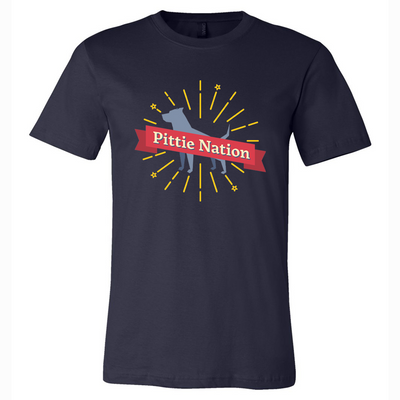 Pittie Nation Full Color Tee