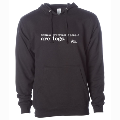 Some Of My Favorite People Are Dogs Hoodie
