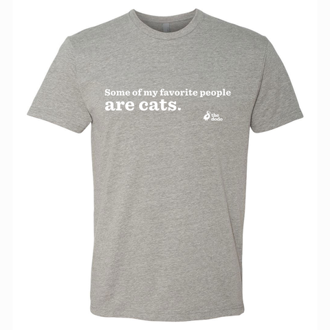Some Of My Favorite People Are Cats Tee