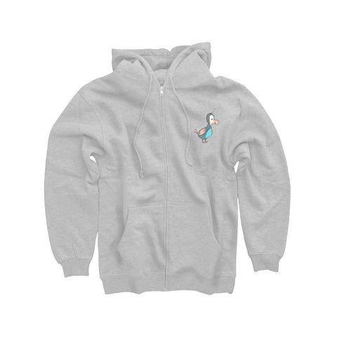 The Dodo x Mutts Zip Hoodie