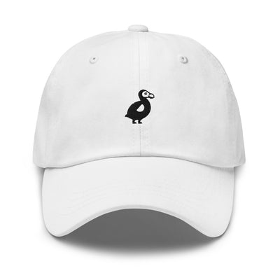 The Dodo Dad Hat - White