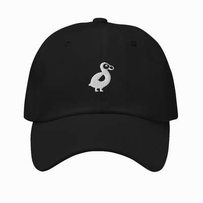 The Dodo Dad Hat - Black
