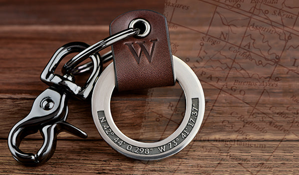 Custom GPS Coordinates Engraved Gifts