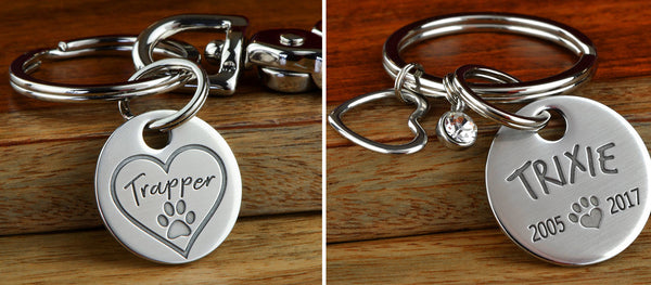 Pet Memorial Keychains