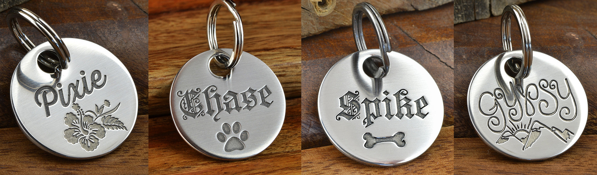 Pet ID Tag Types
