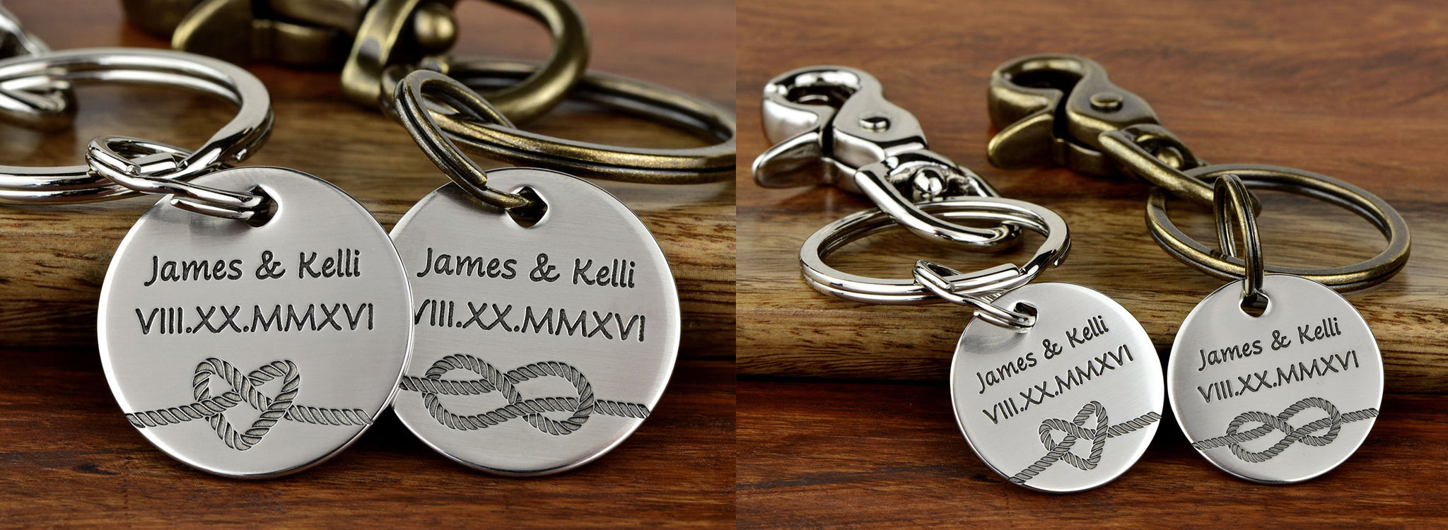 Tied the Knot Keychain