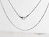Your Real Handwriting Teardrop Necklace