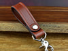 High quality leather belt key fob to hold keys at your side men's accessories