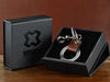 Personalized keychain ring with gift packaging