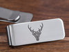Custom Logo Money Clip - Stainless Steel