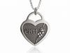 Personalized Engraved Sympathy Necklace for loss of Child