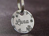 Pretty Girl Dog ID Tag - Artisan Made Dog Tags