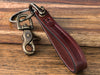 Slim Leather Shackle Keychain
