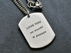 Custom Dog Tag - Pendant Only