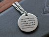 Your Custom Artwork - Mens Reverse Engraved Pendant