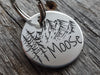 Mountain Adventure Engraved Custom Dog ID Tag