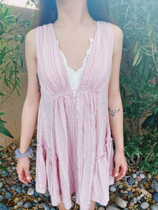 Simply Sweet Dress (baby pink)