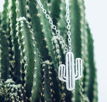 Load image into Gallery viewer, Cactus Necklace