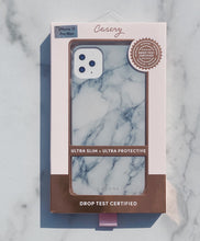 Load image into Gallery viewer, White Marble Phone Case
