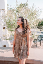 Load image into Gallery viewer, Leopard Print Dress (reg & plus)