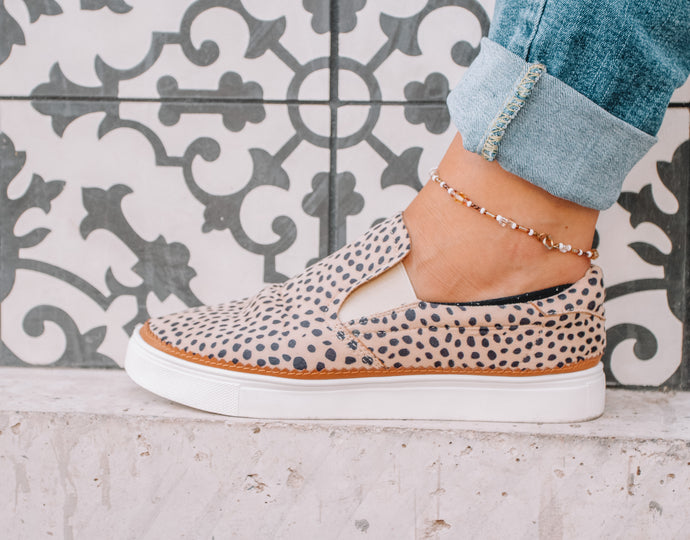 Cheetah Slip On Shoes