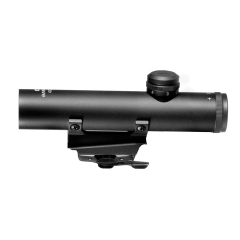 Electro Sight - 4x20mm, 30-30 Reticle, Matte Back