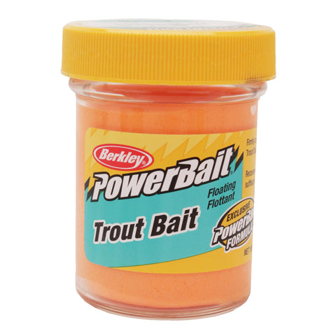 PowerBait Trout Dough Bait - Fluorescent Orange