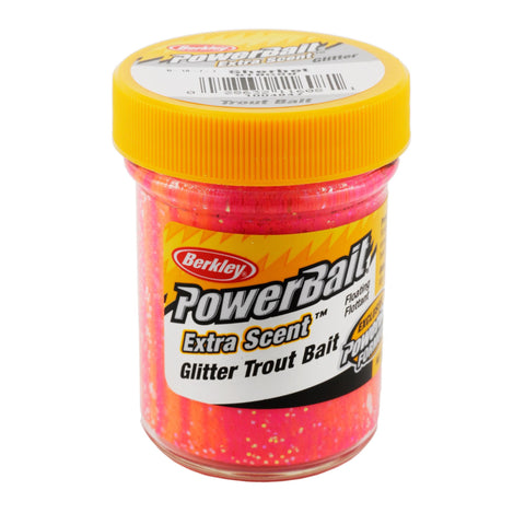 PowerBait Glitter Trout Dough Bait - Sherbet