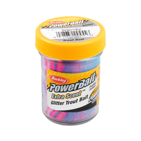 PowerBait Glitter Trout Dough Bait - Captain America