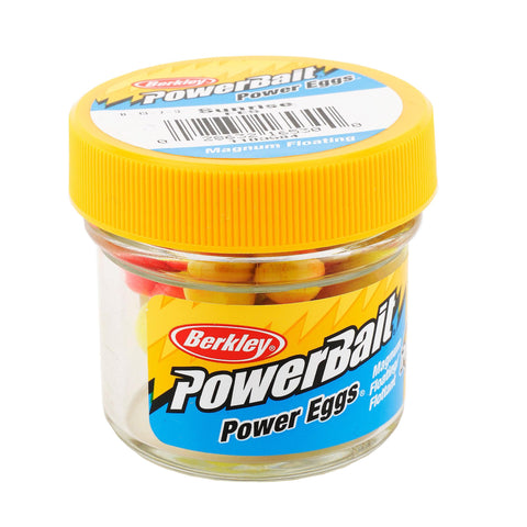 PowerBait Power Eggs Floating Magnum Soft Bait - Original Scent-Flavor, Sunrise