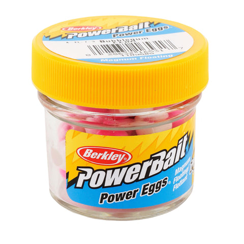 PowerBait Power Eggs Floating Magnum Soft Bait - Original Scent-Flavor, Bubble Gum